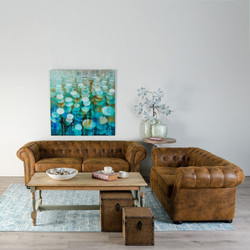 sofa chester marron