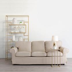 sofa 3p crema