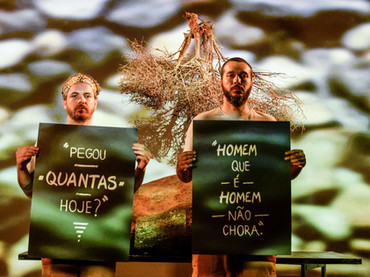 """Apráticos promove debate sobre masculinidades em """"Feliz é a Estrada"""""""