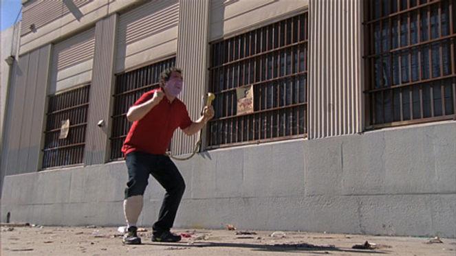 Alex Watson as Wilson.  Primitive Technology.