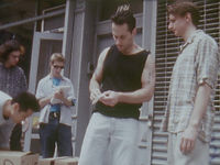 The Bootlegger.  Matt Berck, Evan Steingarten, Todo Segalla.