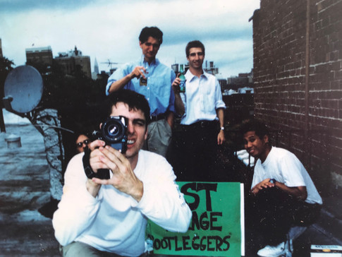 BP SHOOTING SUPER-8 BACK IN THE DAY