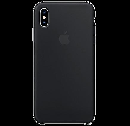Чехол для iPhone XS Max Silicone Case Black