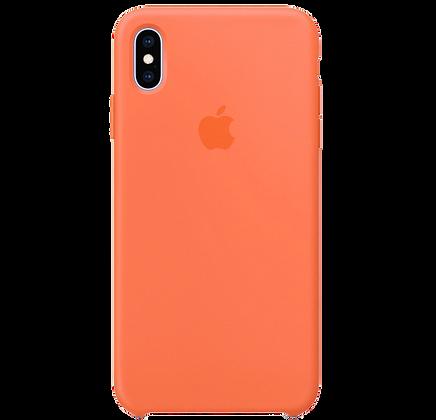 Чехол для iPhone XS Max Silicone Case Orange