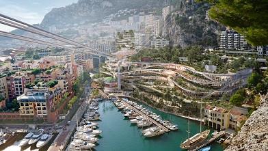 A futuristic makeover for Monaco's Fontvieille