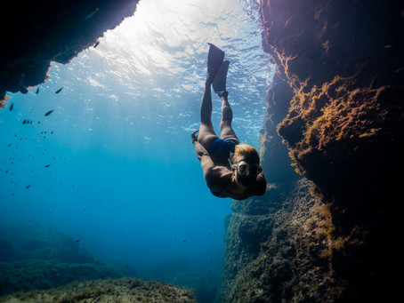 Learn to freedive at Bluenery Academy in Villefranche