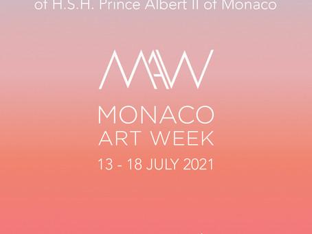 Monaco Art Week 2021 exhibits across the principality