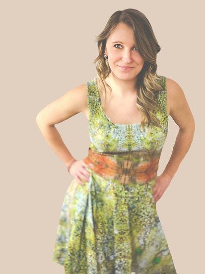 """Summertime"" dress tailored"
