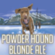 powder hound blonde ale