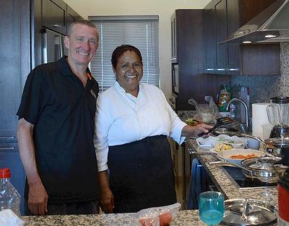 Jim and Chef Gloria