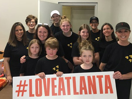 #loveatlanta Shares love with Clifton Sanctuary Ministries