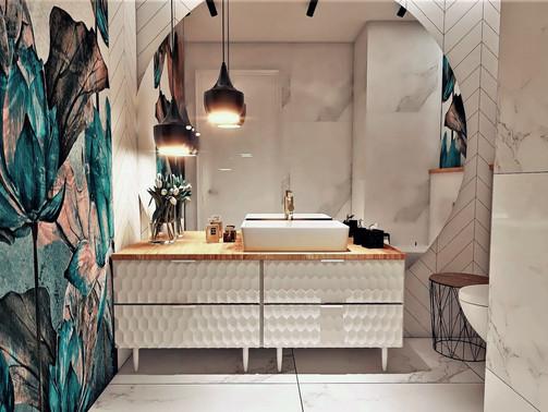 Łazienka dla Gości w biurze