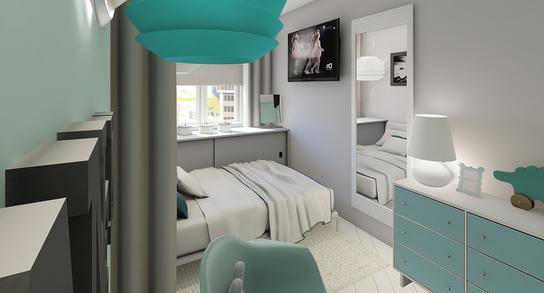 Sypialnia Mieszkanie Piła