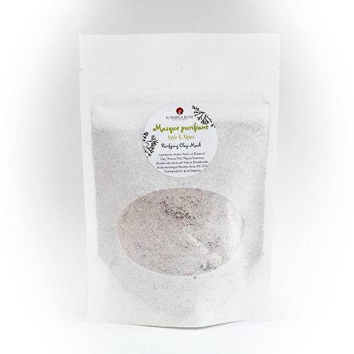 Masque purifiant argile & thé du Labrador
