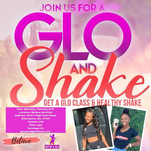 GLO & Shake!