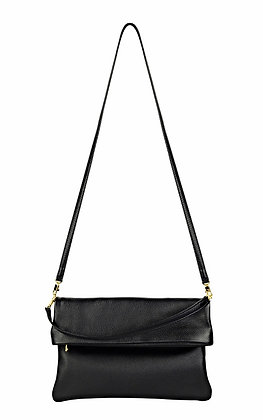 BLACK WITH GOLD SWITCH BAG