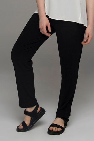 "The Power of Grey ""Mystic"" slim leg tailored pants in black"