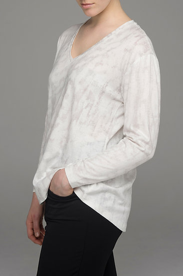 """The Power of Grey """"Torrent"""" knit top"""