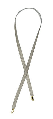 LIGHT GREY & GOLD LONG SWITCHABLE STRAPS