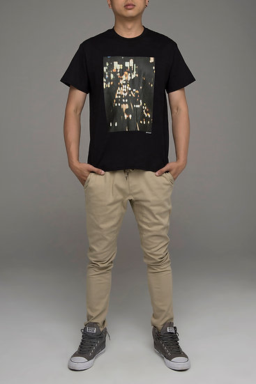 """Punch Park """"Streetscape"""" slim fit tee in black"""