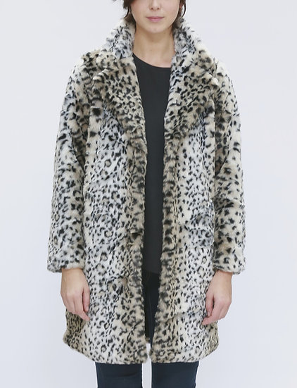 "Beech & Bird ""Wildcat"" faux fur coat"