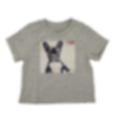 Toddler Baby Kids Grey Cotton Tee