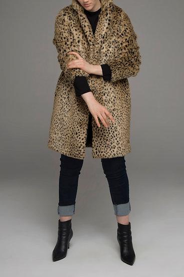 "Beech & Bird ""Wildbird"" faux fur coat"