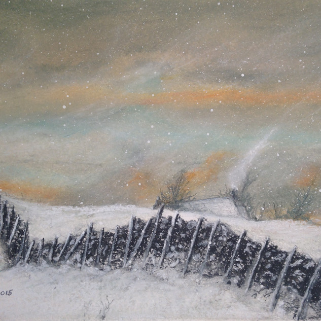 Fields of Snow, Ninebanks (near Hexham)