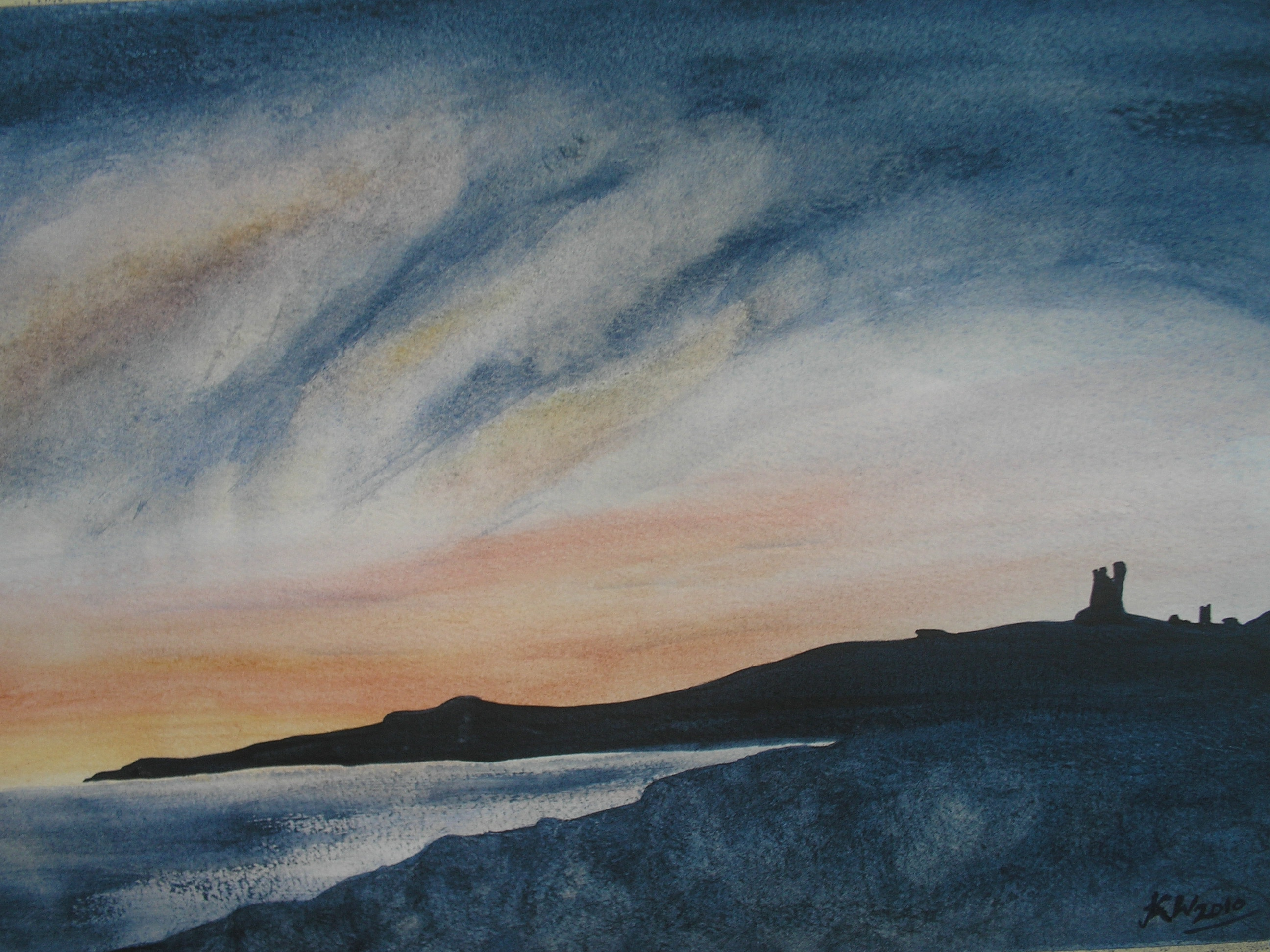 Days End at Dunstanburgh300.jpg