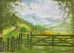 Beyond the Gate to Grasmere
