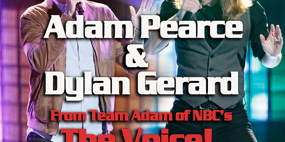 Adam Pearce & Dylan Gerard of The Voice