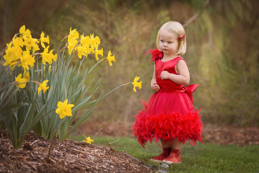 Little Girl Photo Session In Washington Arboretum