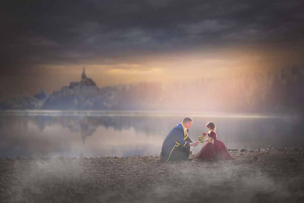 Beauty And The Beast Photography Session