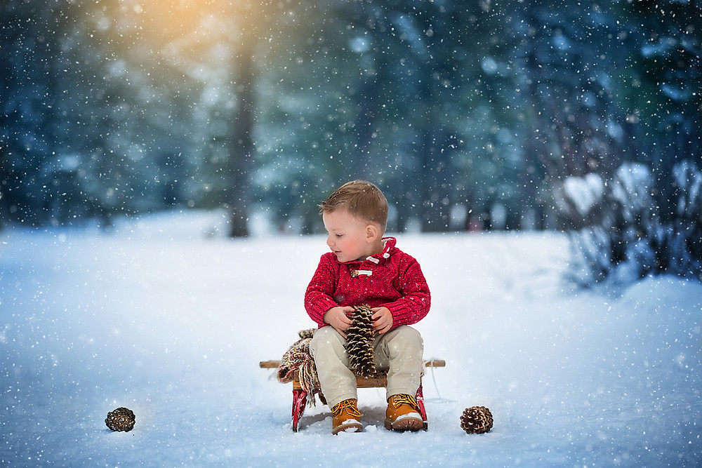 Winter Family Session / Cle Elum Photographer
