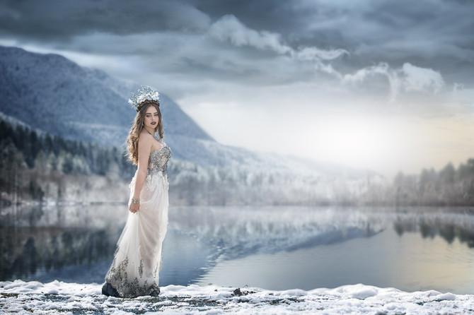 Winter Enchantress|Rattlesnake Lake, WA