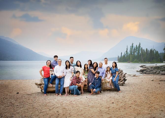 Large Family Photo Session In Lake Wenatchee | Leavenworth Photographer