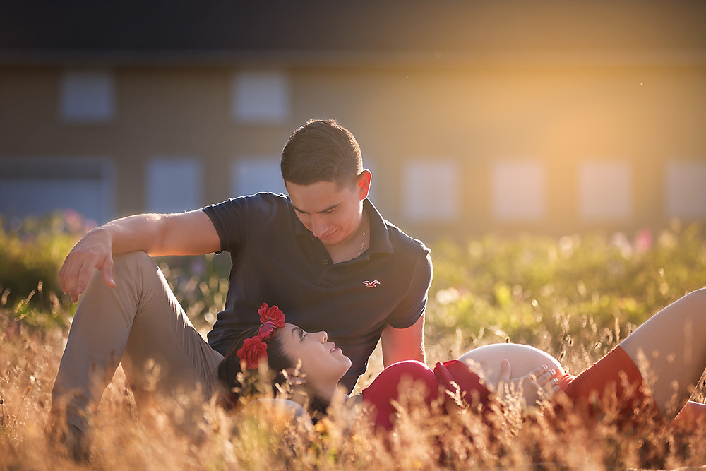 Couple Maternity Session