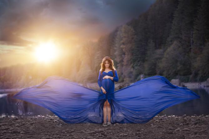 {North Bend, WA Maternity Photographer}/ Magical Maternity Session By Rattlesnake Lake