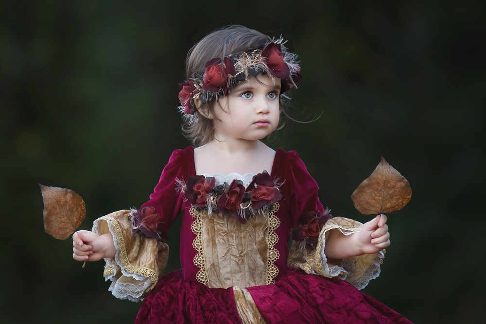 A Girl In A Pretty Dress Photography Session
