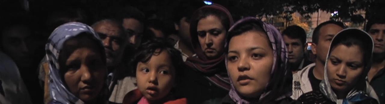 Desperate Afghanee Refugees