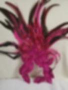 Pink Headpiece