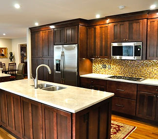 custom craftsman-style kitchen