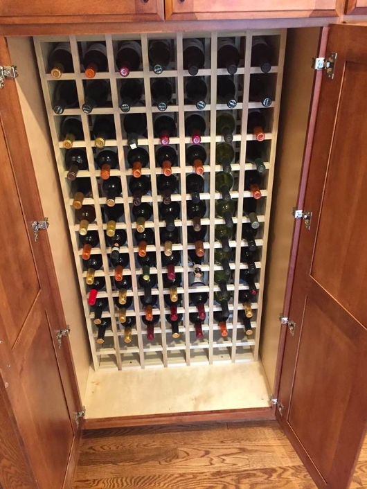 Custom wine storage, Blue Ash