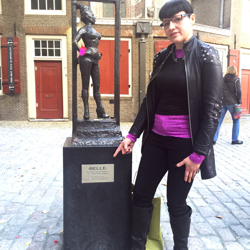 A monument to sex workers all over the world