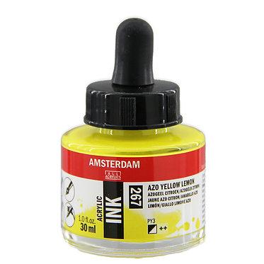 Encre Acrylique Amsterdam Jaune Azo Citron