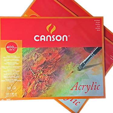 Bloc de papier pour acrylique de Canson