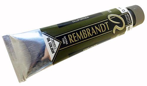Huile Rembrandt Vert Olive 620 S2