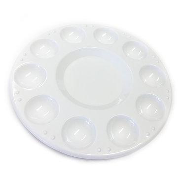 Palette en plastique ronde 10 trous