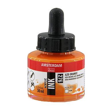 Encre Acrylique Amsterdam Orange Azo 276