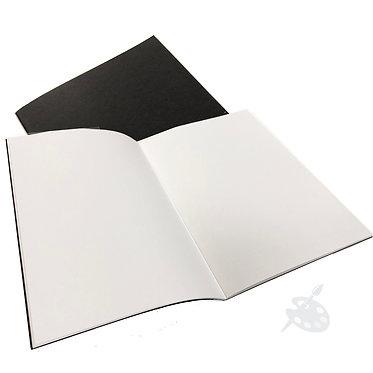 Cahier de feuilles Blanches A4 de Seawhite